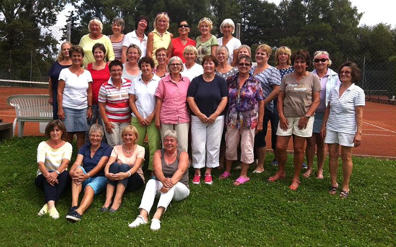 Hobbyrunde Turnier Damen 2014